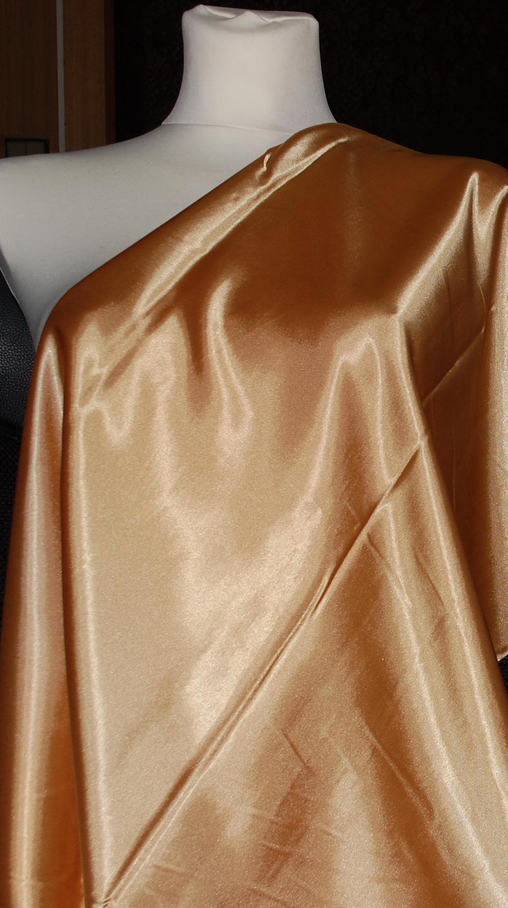 ad91cfb0d72a Satén elastický 1025 44 zlatý - Jizerka - Textil s.r.o.