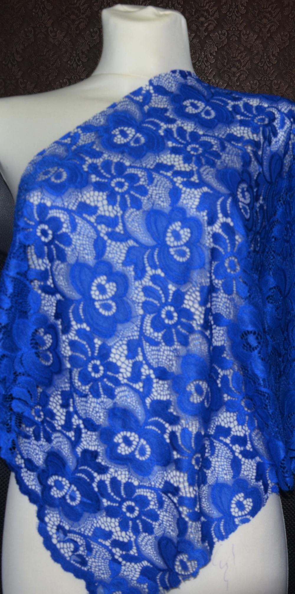Krajka elastická 7607/04 kr.modrá